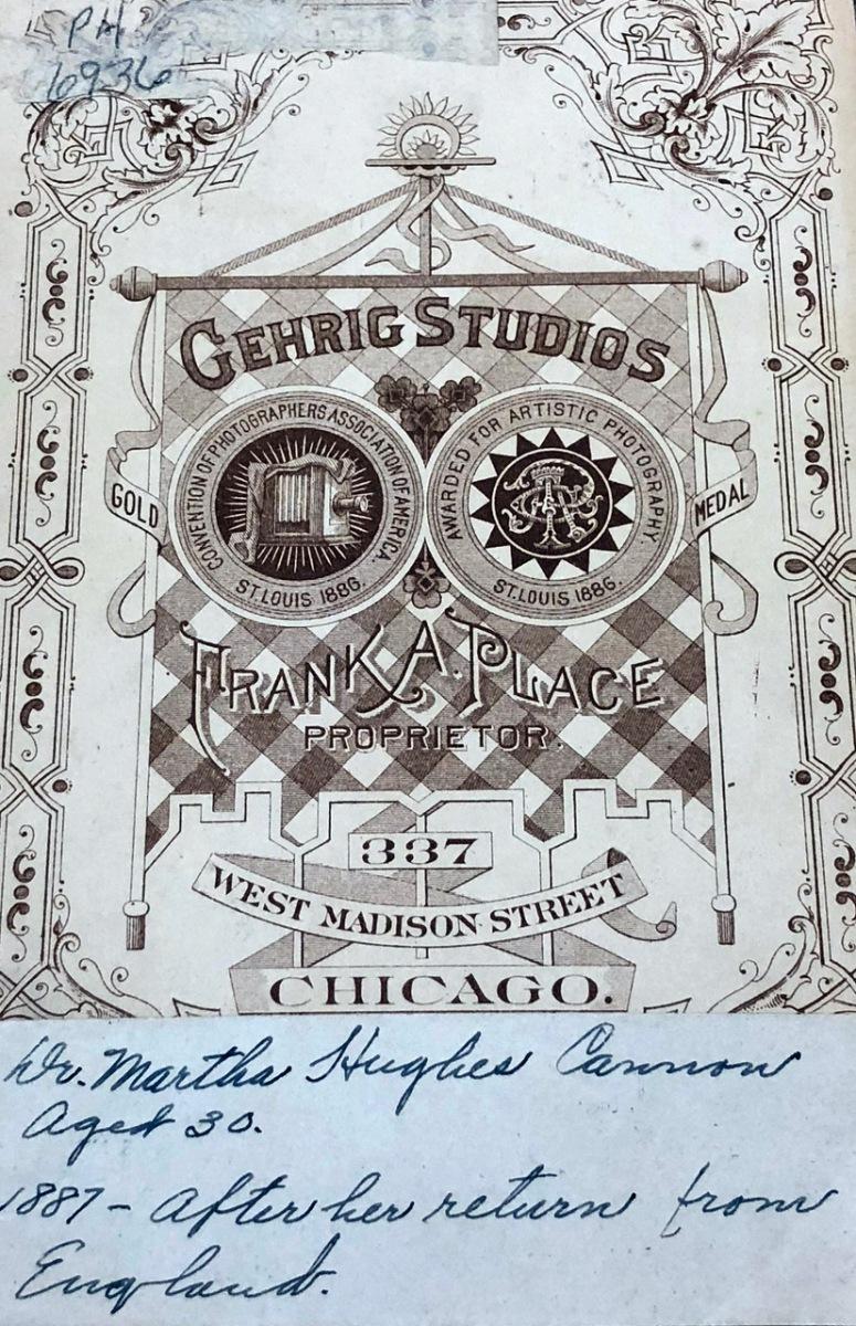 Reverse of photo taken in Chicago